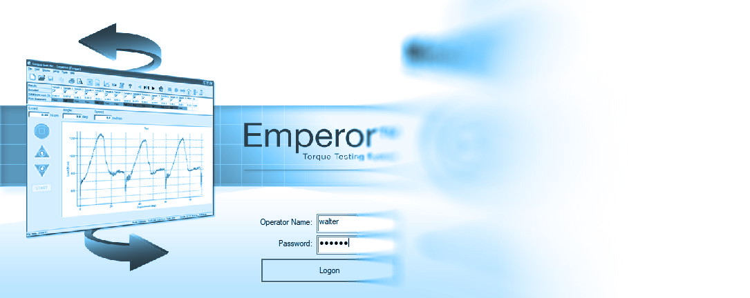 Emperor torque test software splash screen background