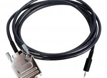 PC cable for CFG+, 2.5 mm jack to 9-pin RS232 F