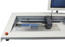 FPT-H1 with 180 degree peel table, PSA tape