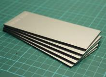 "432-652 stainless steel 2"" wide x 5"" long  pack of 5"