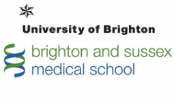 University of Brighton and Sussex Medical School logo