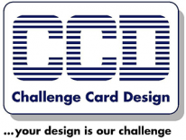Logotipo de Challenge Card Design