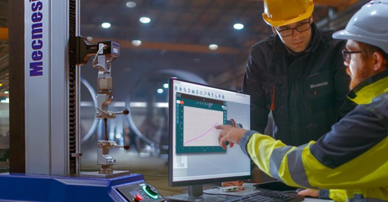 Mecmesin calibration services - on-site and return to factory
