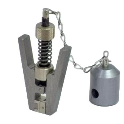 20 N spring-loaded pinch grip with chain link, QC fitting