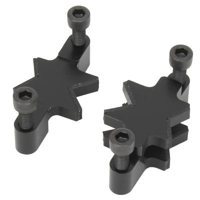 Helixa precision fixing plate V jaws