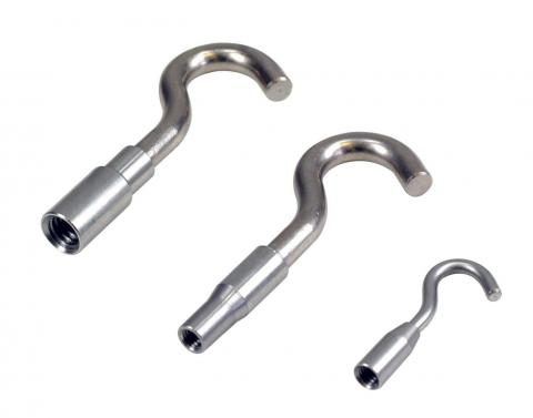 Round hooks, fixed, 50, 500 N and 2.5 kN