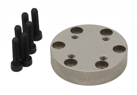 QC mounting plate for 50 kN systems