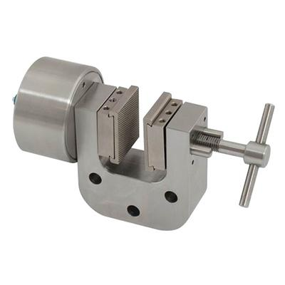 Pneumatic Vice Action Grip with 1 pneumatic rod, 30 mm capacity, pair (without jaws), QC fitting, web version