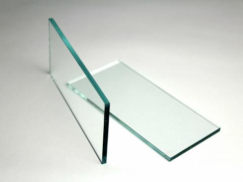 float glass for peel and tack tests