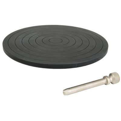 phosphated hardened steel compression plate, 156 mm, QC20 fitting