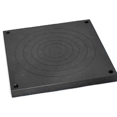 Mec36-St square phosphated hardened steel compression plate, QC fitting