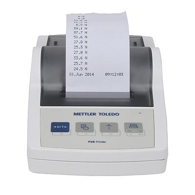 Mettler-Toledo statistical printer, web version