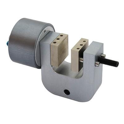 Pneumatic Vice Action Grip with 1 pneumatic rod, 20 mm capacity, pair (without jaws), QC fitting, web version
