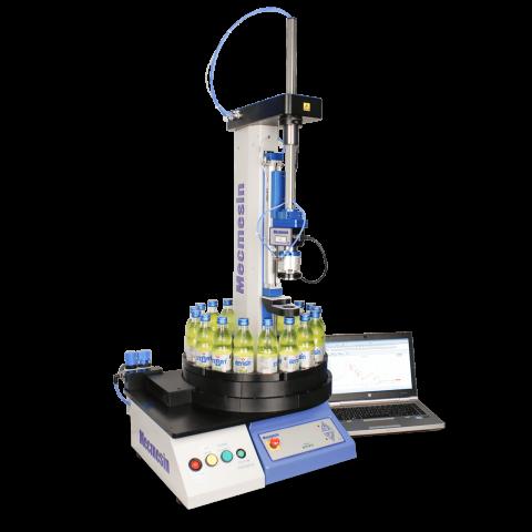 ABC-t自动测试系统产品taufname mit gelben Flaschen