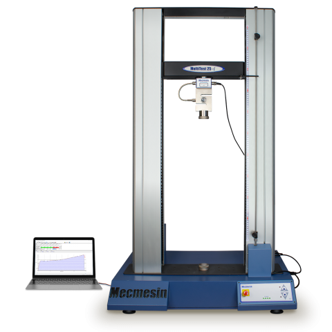 Product image of MultiTest 25-i high capacity twin-column force testing system with PC
