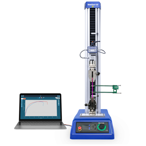 OmniTest single-column materials tester software controlled system
