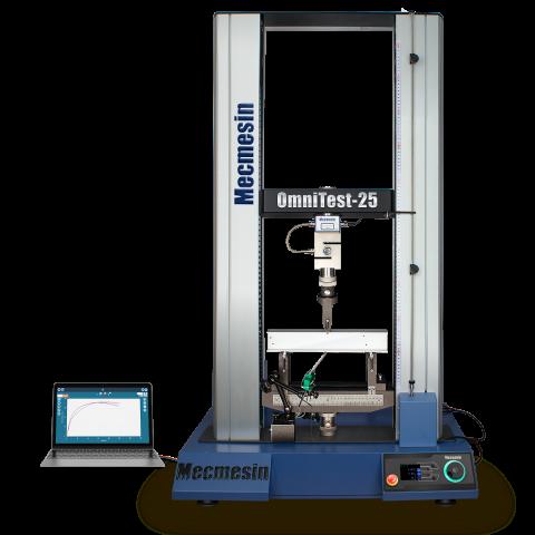 OmniTest วัสดุคอลัมน์คู่ 10, 25 และ 50 kN และเครื่องทดสอบอเนกประสงค์โดย Mecmesin