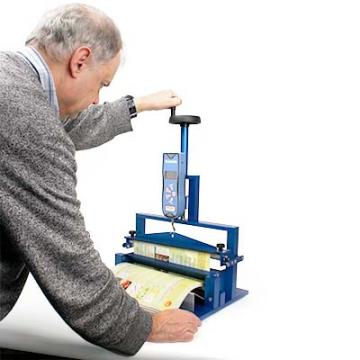 Page Pull Tester can test large specimens and is quick to use