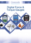 Digital Force & Torque Gauges (AFTI, AFG, BFG, CFG) brochure