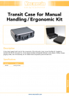 Transit Case for Manual Handling/Ergonomic Kit DS-1115-02