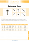 Extension Rods DS-1127-03-L00