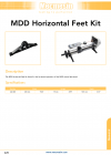 MDD Horizontal Feet Kit
