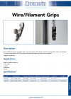 Wire/Filament Grips
