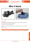 Mini V-block DS-1139-01