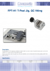 FPT-H1 T-Peel Jig, QC fitting
