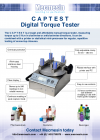 Brochura do Digital Torque Tester (CAPTEST) (PDF)