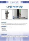 Large Pinch Grip DS-1059-02-L00