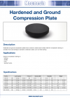 Hardened and Ground Compression Plate