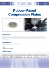 Rubber-Faced Compression Plates