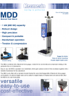 MDD Precision-Handwheel Stand Manual - แผ่นข้อมูล