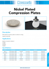 Nickel plated compression plates