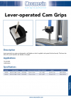 Lever-operated Cam Grips