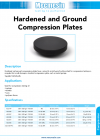 Hardened and Ground Compression Plates