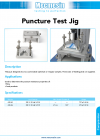 Puncture Test Jig