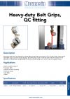 Heavy-duty Belt Grips, QC fitting