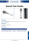 Swivel Test Hooks DS-1033-02-L00