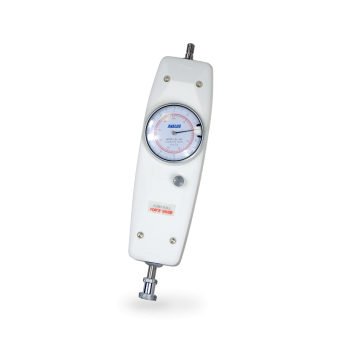 Product image of mechanical analogue force gauge for tension and compression testing by Mecmesin