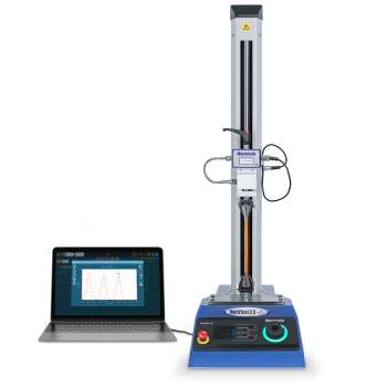 Product image of Mecmesin MultiTest-dVU basic low-force flexible samples materials tester